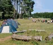 Camp am kleinen Peetschsee