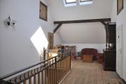 Treppenaufgang und Aufenthaltsraum