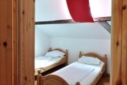 Schlafraum mit Doppelbett OG