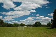 Fußball und Volleyball