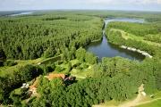 Luftaufnahmen Biber Ferienhof