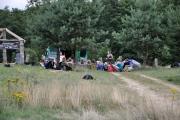 Camp der Pfadfinder